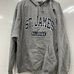 Holloway Gray St.james Bulldogs XL Hoodie